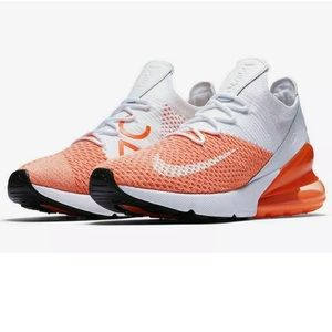 Womens Nike AIR MAX 270 FLYKNIT Running Shoes